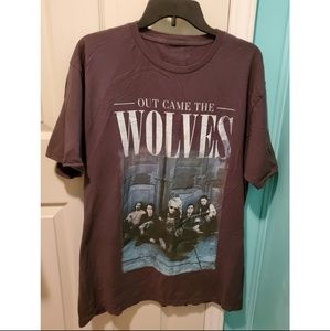 Out Came The Wolves Band Tee
